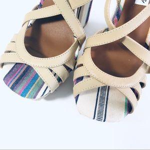naughty monkey Shoes - Plateform Thick Heel Jute Heels